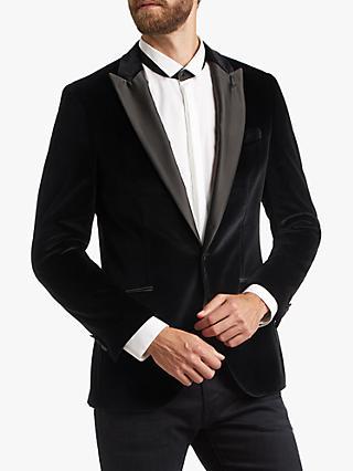 14536cfb041 HUGO by Hugo Boss Harvey Velvet Slim Fit Dress Jacket