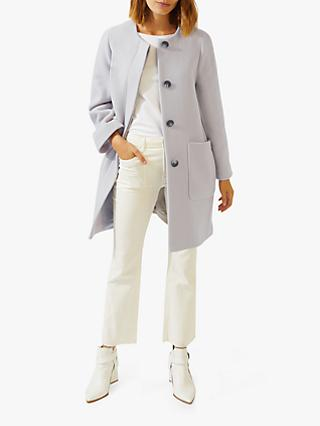 Jigsaw Shell Coat, Stone
