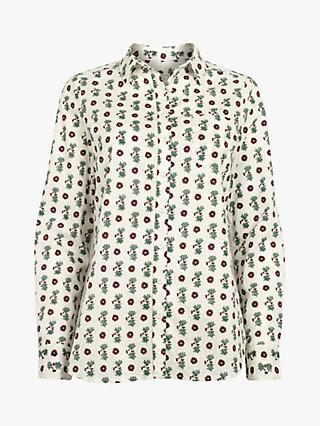Fat Face Olivia Bexley Shirt, Ivory