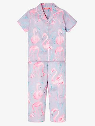 9d95dba2e5 Minijammies Girls  Flamingo Print Pyjamas