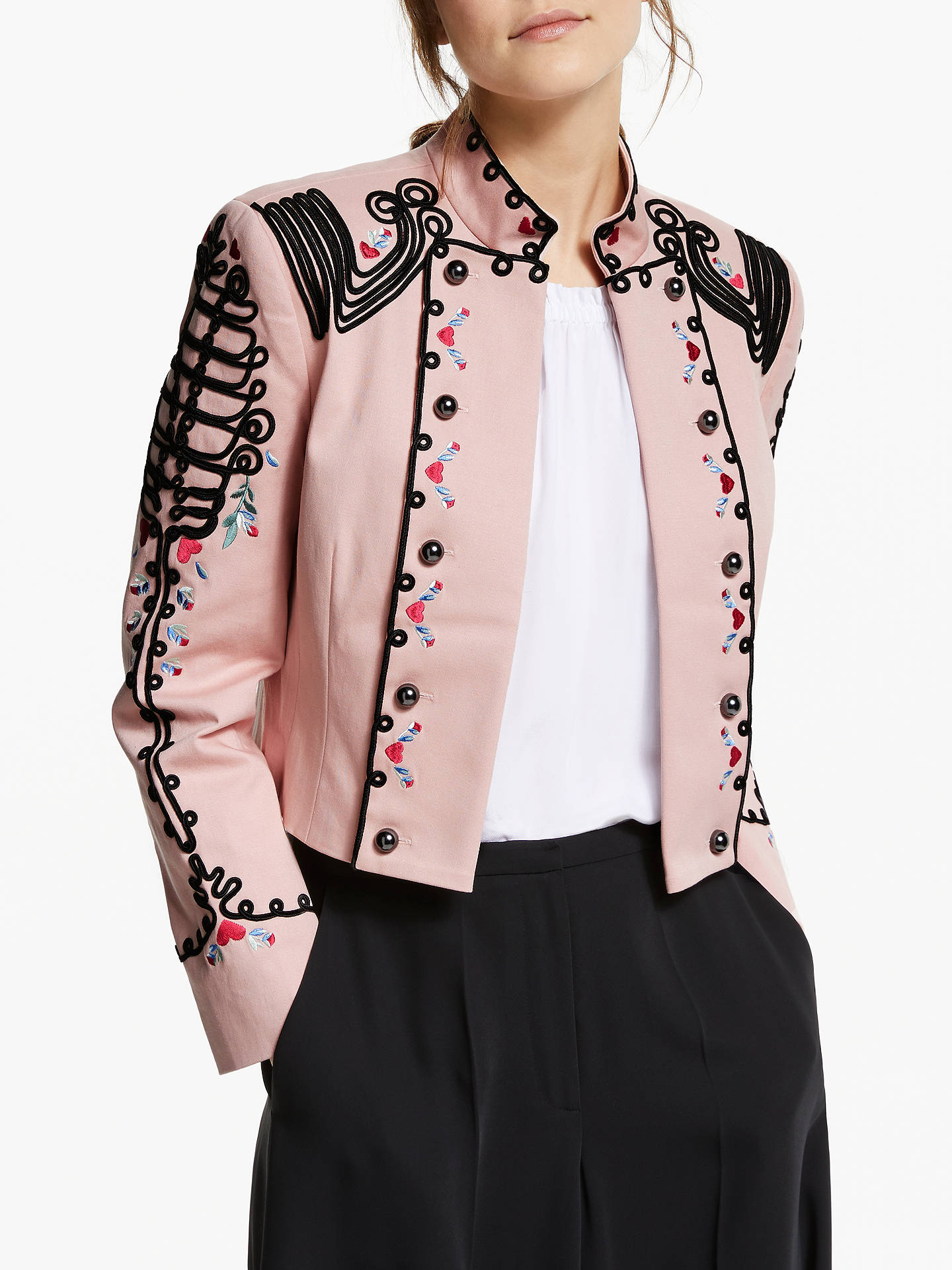 BuySomerset by Alice Temperley Embroidered Military Jacket 3027b5c92