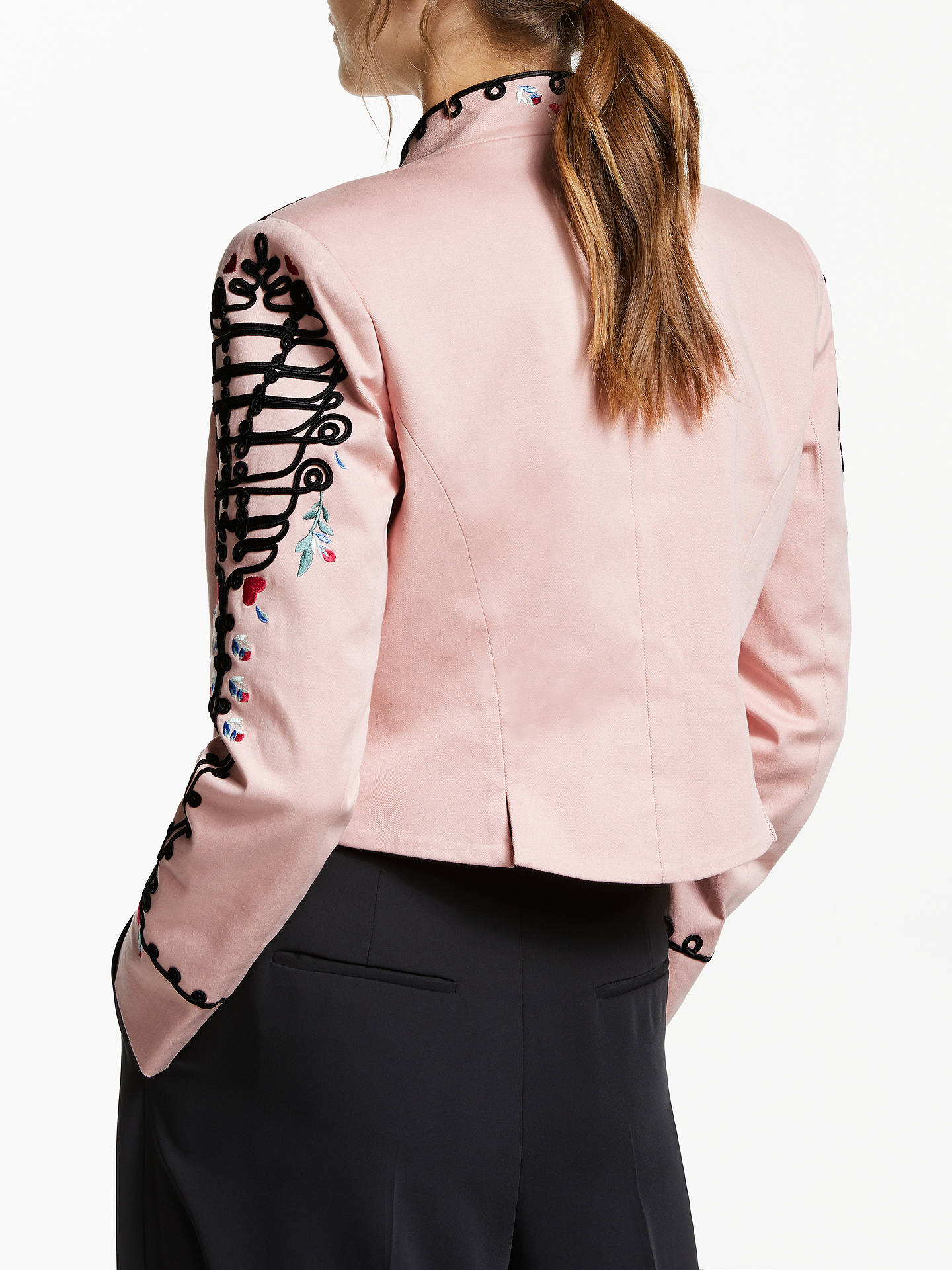 ... BuySomerset by Alice Temperley Embroidered Military Jacket ed848b3e4