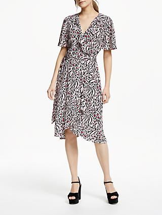 Somerset by Alice Temperley Leopard Wrap, Nude