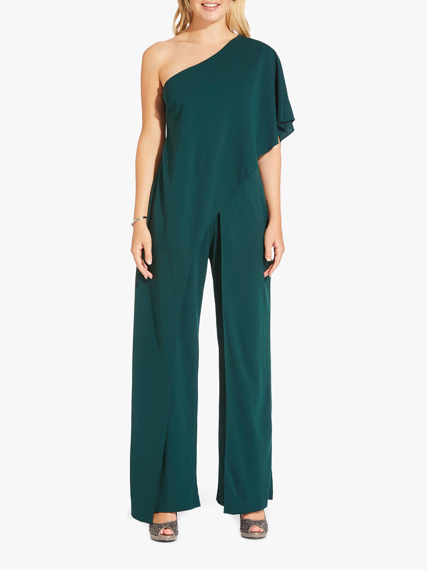 e62b99993da Buy Adrianna Papell Flutter One Shoulder Jumpsuit