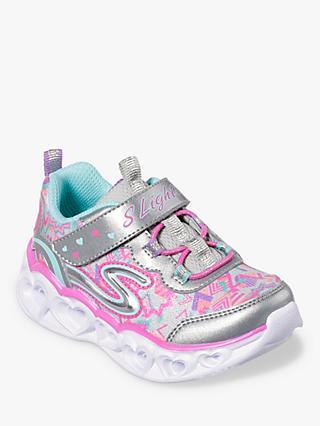 857b544a554 Skechers Children s Heart-Lights Trainers