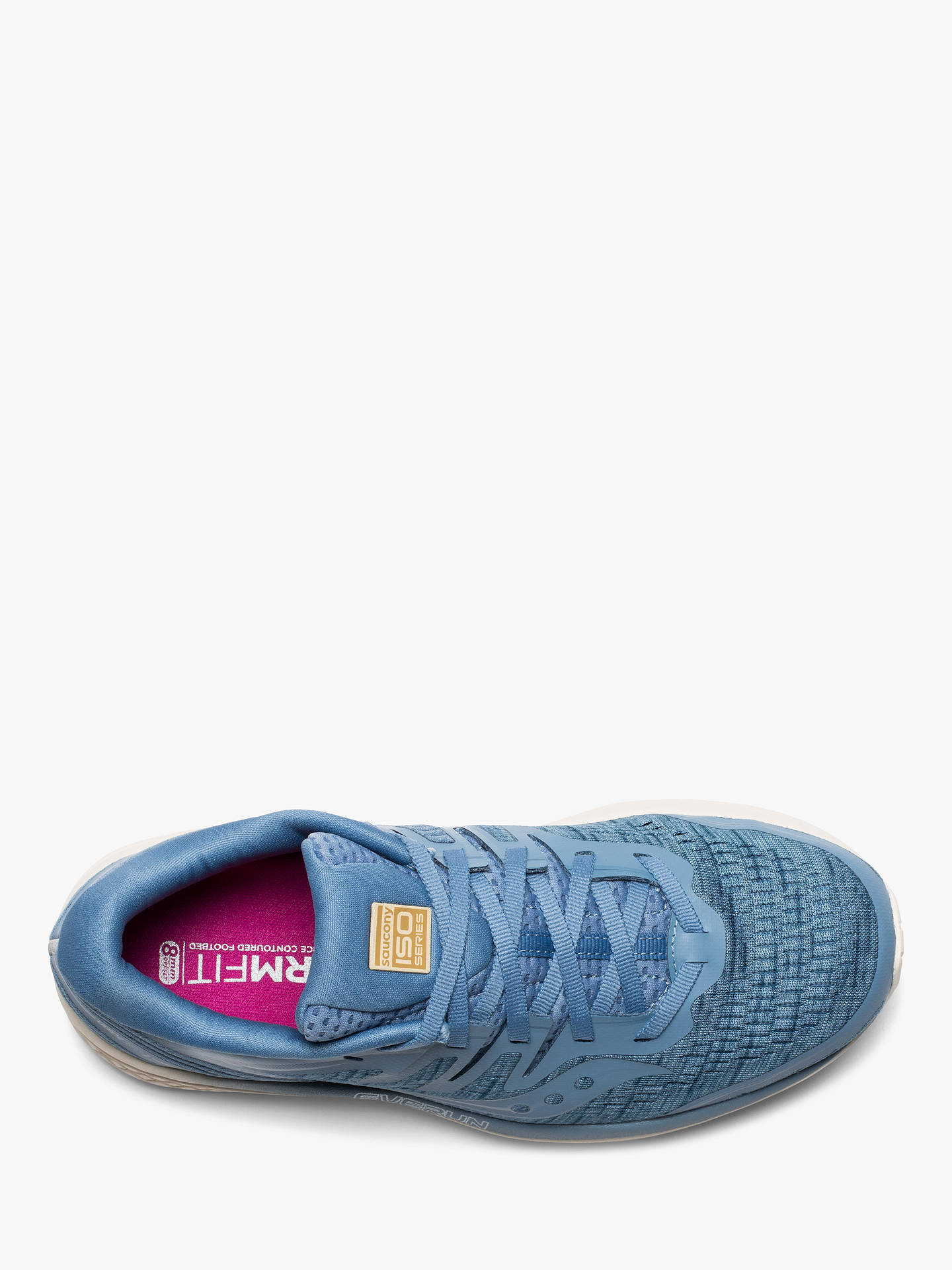 78531d4011 ... Buy Saucony Guide ISO 2 Women's Running Shoes, Blue Shade, 6 Online at  johnlewis ...