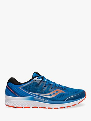 Saucony Guide ISO 2 Men's Running Shoes, Blue/Orange