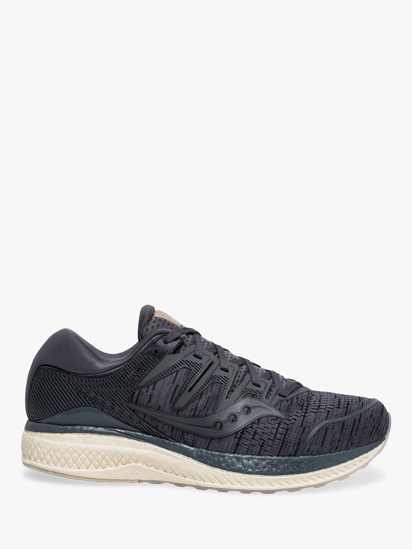 f25efefe Buy Saucony Hurricane ISO 5 Men's Running Shoes, Grey Shade, 11 Online at  johnlewis ...