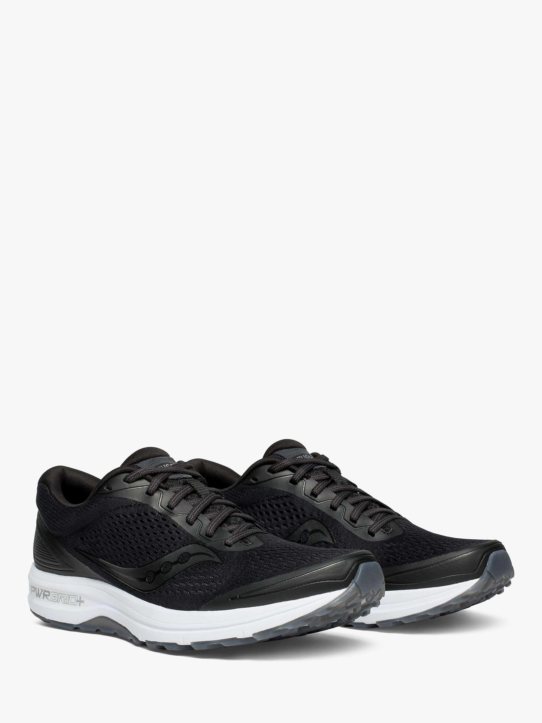 za kilka dni kod promocyjny buty temperamentu Saucony Clarion Men's Running Shoes, Black at John Lewis ...