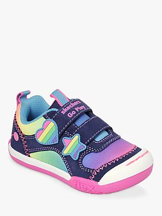 Skechers Children s Flex Play Rainbow Dash Trainers 07f7b82c954d