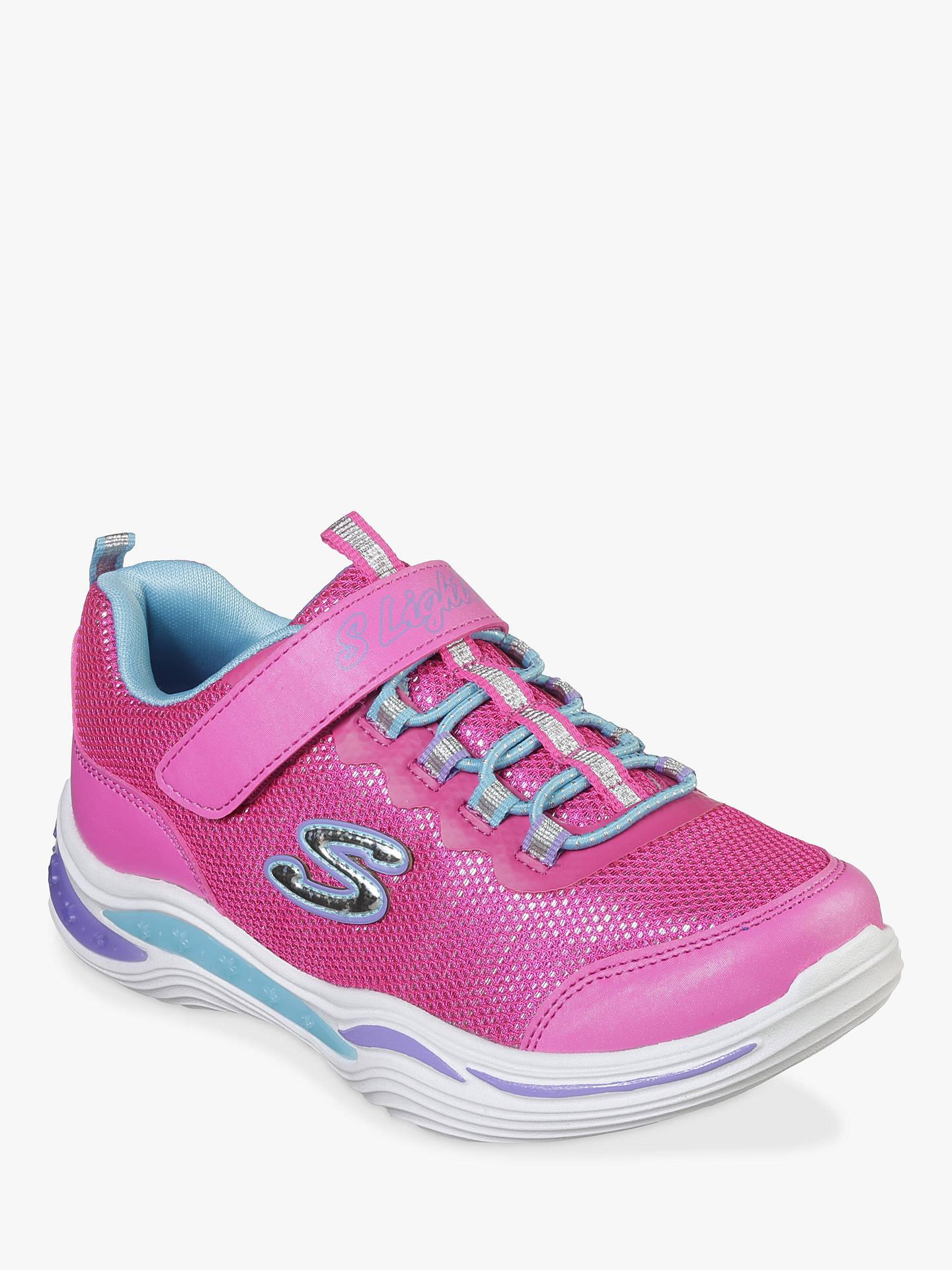 fa53b15a2b743 Skechers Children's Power Petals Trainers, Pink/Multi