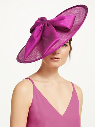 91729296aae Whiteley Tyra Bow Detail Disc Occasion Hat, Cyclamen