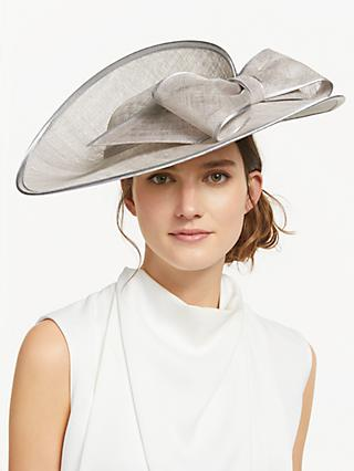 John Lewis   Partners Saskia Large Side Up Disc Bow Fascinator d4ec5782797