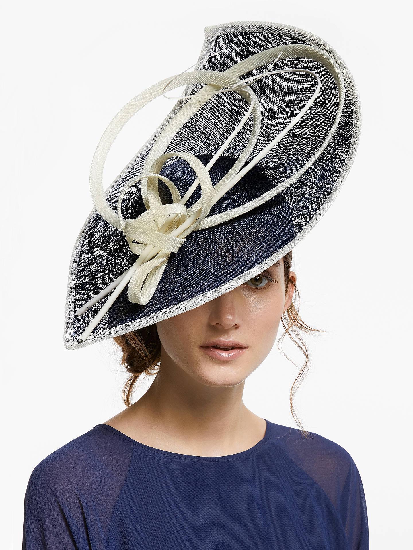 1611f29d20833 Buy John Lewis   Partners Serena Leaf Disc Occasion Hat