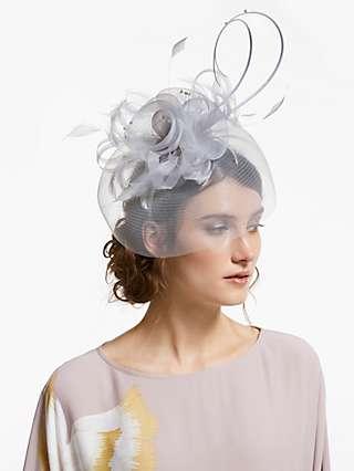 John Lewis & Partners Gigi Crin Veil Fascinator