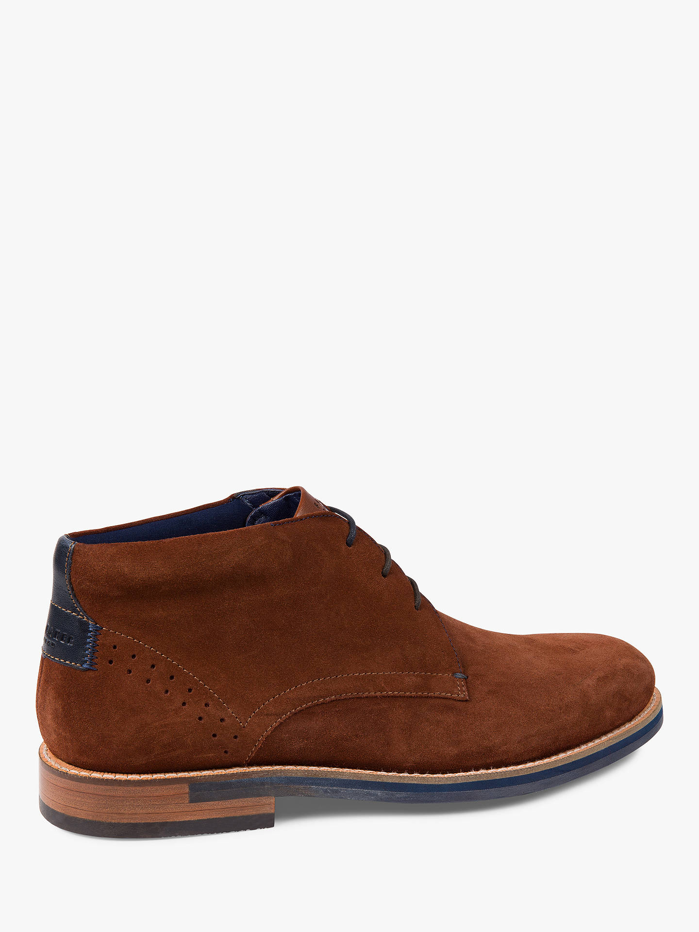 Buy Ted Baker Daiinos Chukka Boots, Brown, 7 Online at johnlewis.com