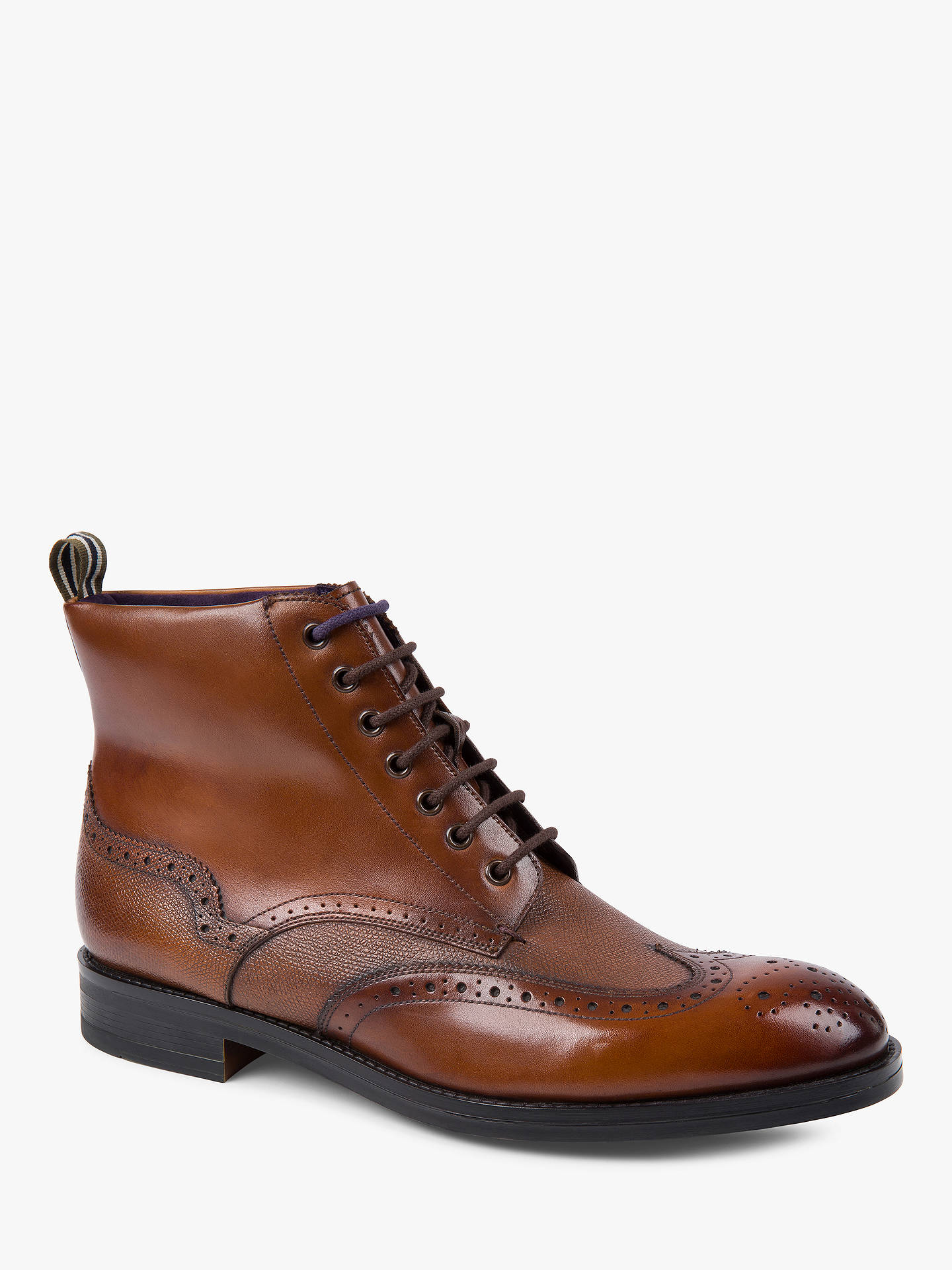 7d483ff73123f Ted Baker Twrens Brogue Boots at John Lewis   Partners