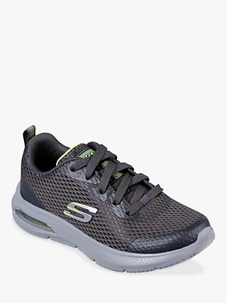 Skechers Children's Dyna-Air Quick Pulse Trainers, Charcoal