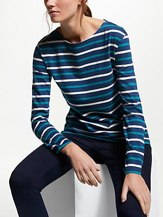 Seasalt Sailor Jersey Top, Duet Night Emulsion