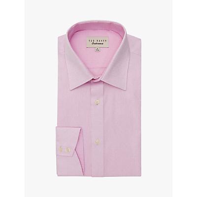 Ted Baker Puferfi Jacquard Weave Shirt, Pink