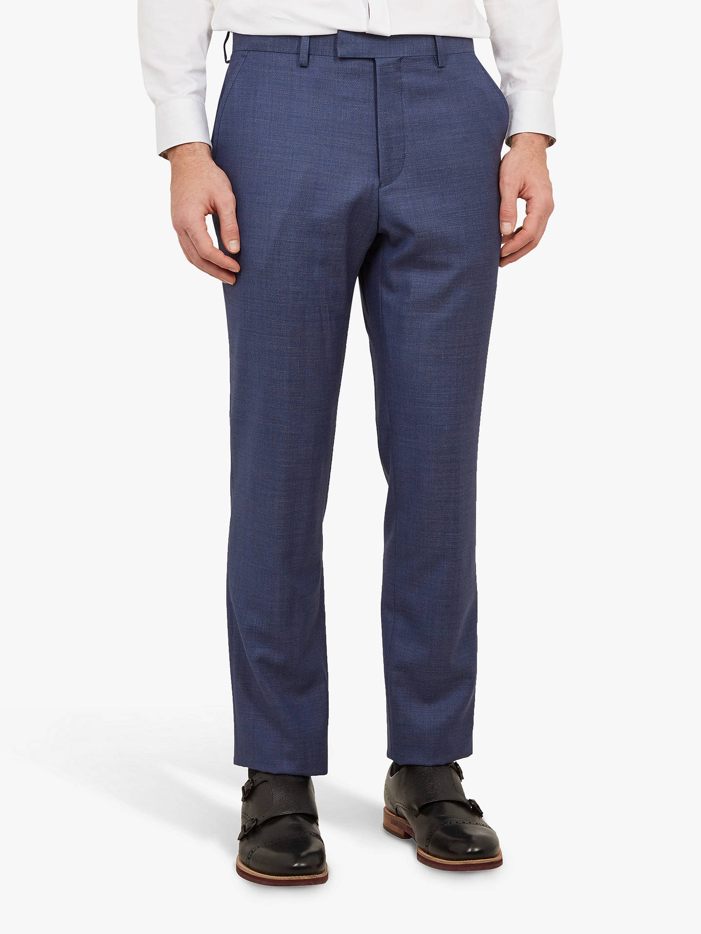 9127acc86 Buy Ted Baker Fuzion Birdseye Wool Tailored Suit Trousers