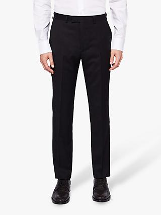 Ted Baker Timzon Wool Tailored Suit Trousers, Black