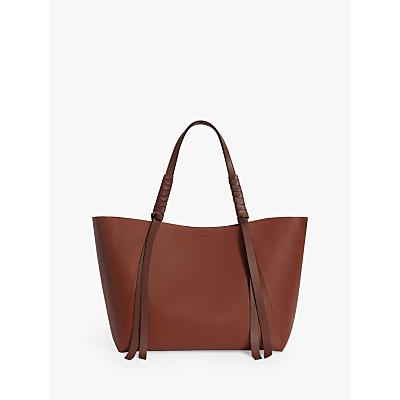 AllSaints Voltaire Leather Tote Bag