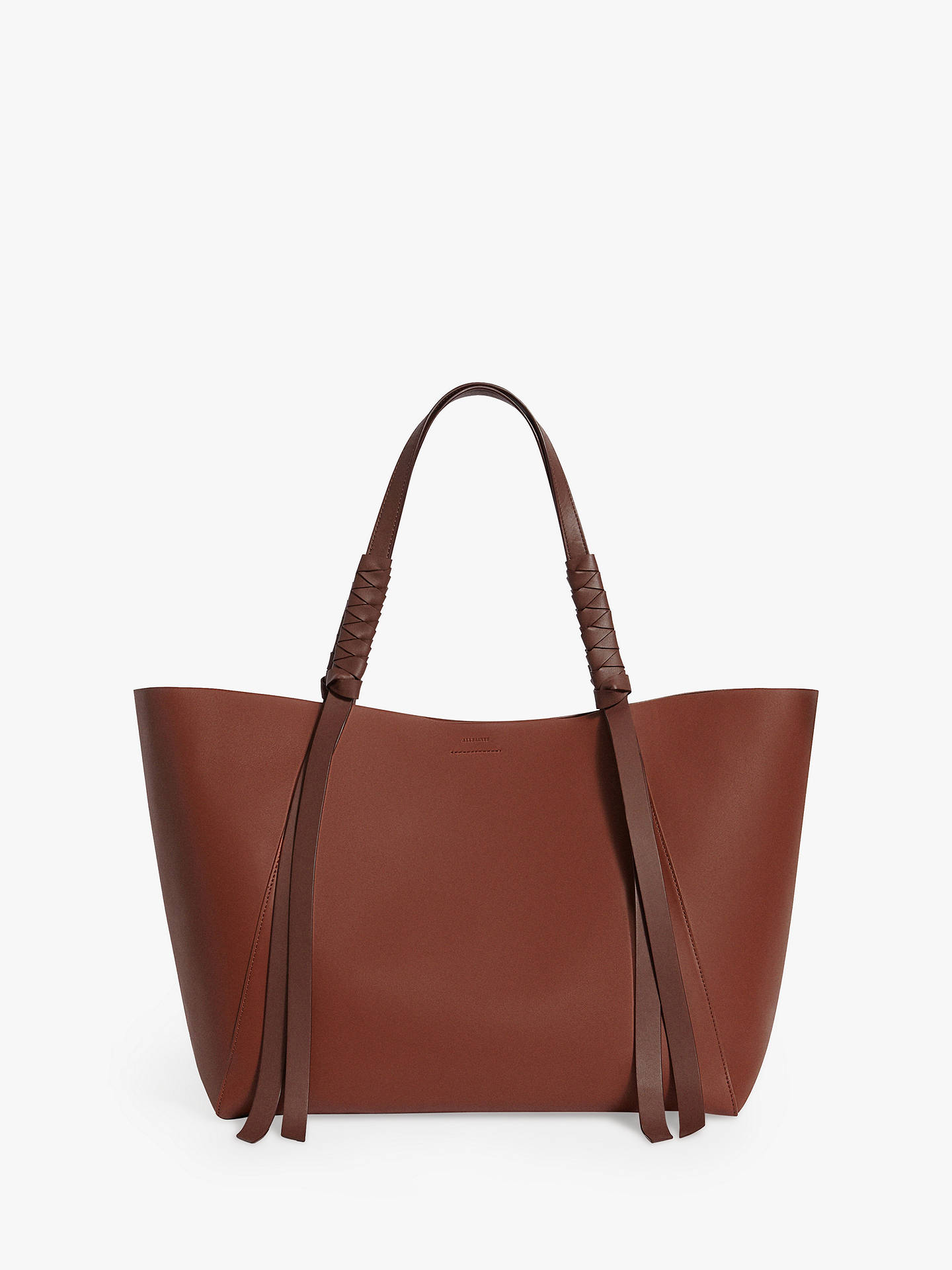 1971883d9fab BuyAllSaints Voltaire Leather Tote Bag Online at johnlewis.com ...