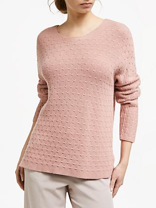 Modern Rarity Links Stitch Jumper, Pink
