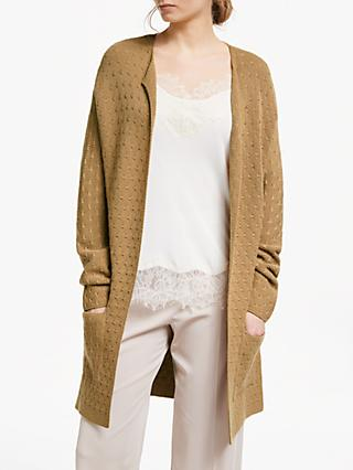 Modern Rarity Links Stitch Cardigan, Brown
