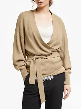 Modern Rarity Ballet Wrap Cardigan, Brown