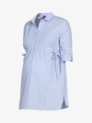 3e148d71d3f Séraphine Hermia Striped Maternity Shirt
