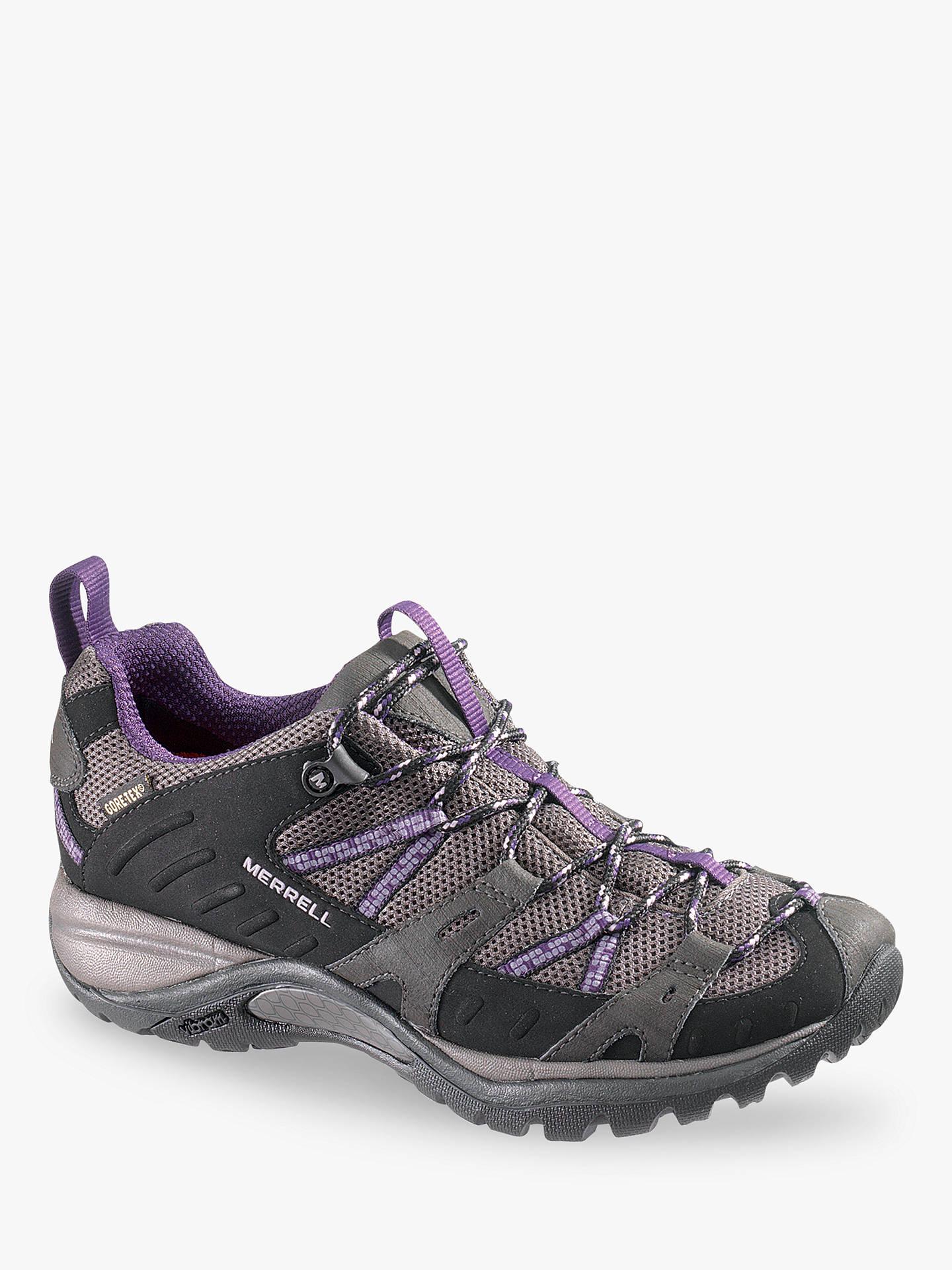 1aaa9f1a202a4 Buy Merrell Women's Siren Sport Gore-Tex Walking Shoes, Black/Plum, 5