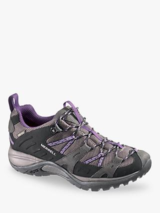 Merrell Women's Siren Sport Gore-Tex Walking Shoes, Black/Plum
