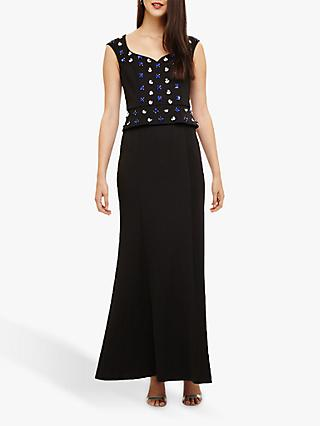 Phase Eight Collection 8 Louise Embellished Dress, Black