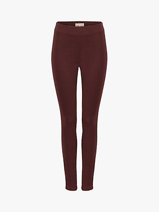 Phase Eight Amina Darted Jeggings, Brick Red
