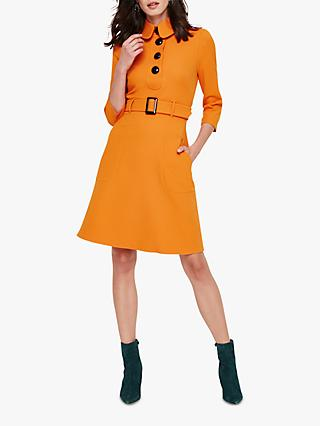 Damsel in a Dress Adie Button Dress, Burnt Orange