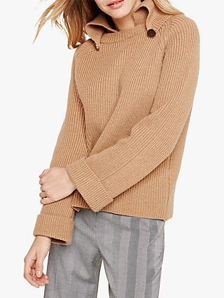 Damsel in a Dress Chunky Jumper, Camel