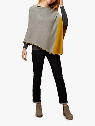 White Stuff Penelope Colour Block Poncho