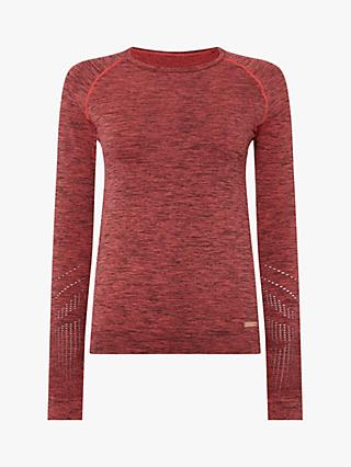 Pepper & Mayne Saskia Base Layer Long Sleeve Top, Rose