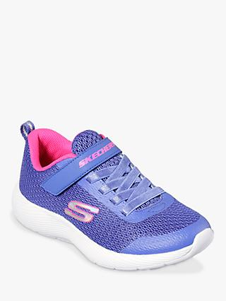 ca862147b2d Skechers Children's Dyna-Lite Trainers, Blue/Hot Pink