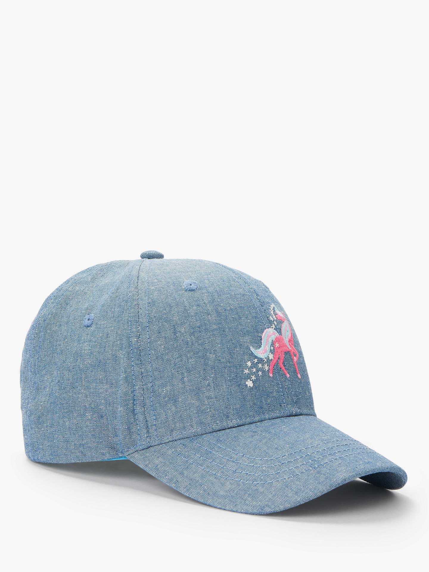 82cf2deabbb BuyJohn Lewis   Partners Children s Unicorn Chambray Cap Hat