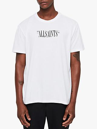AllSaints Brackets Short Sleeve Logo T-Shirt