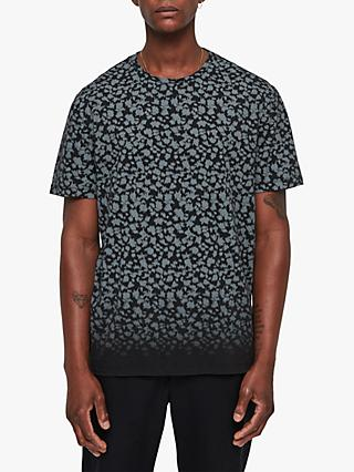 AllSaints Sigfried Animal Camo T-Shirt