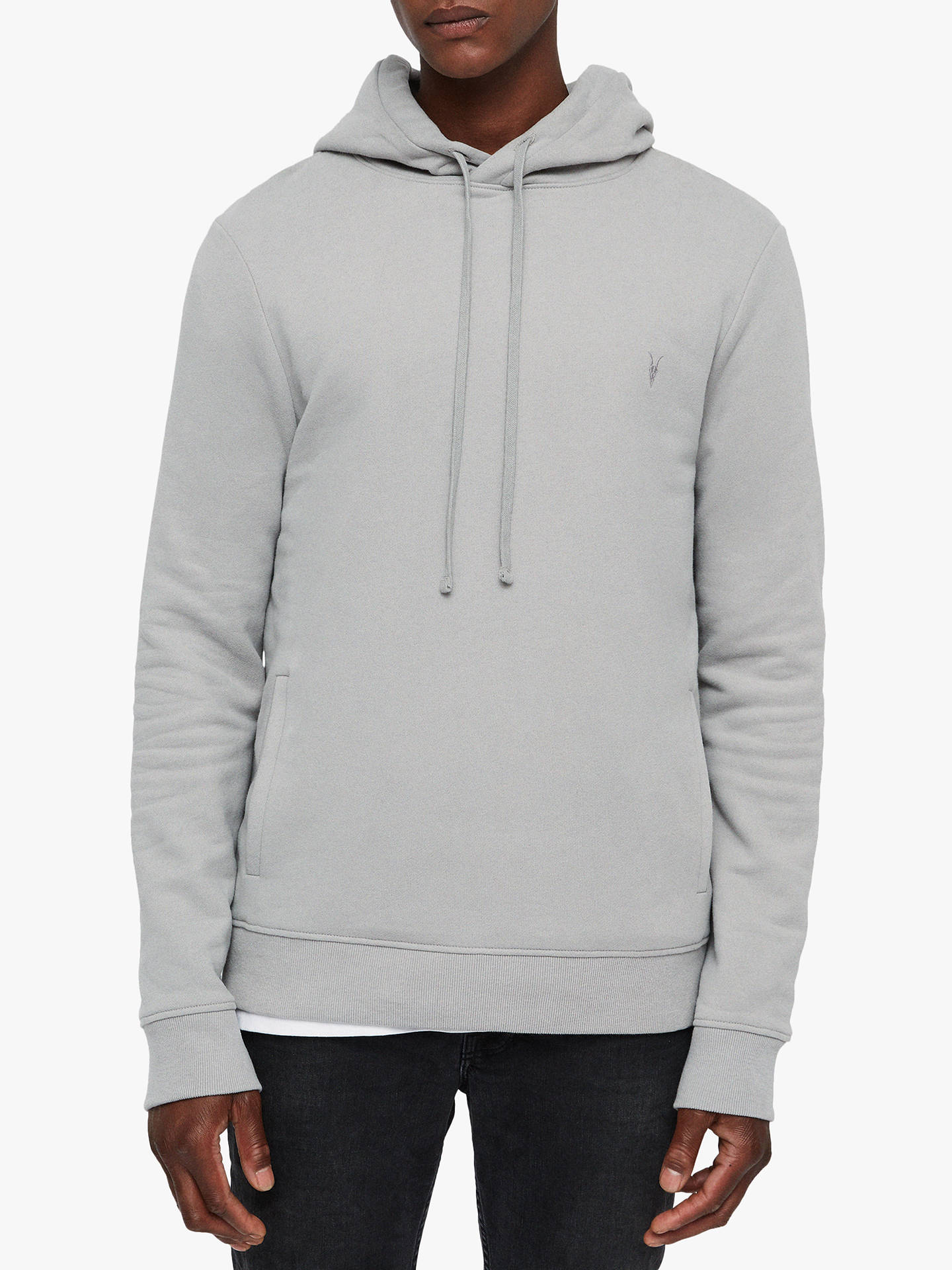 new style 30542 19912 AllSaints Raven Hoodie at John Lewis & Partners