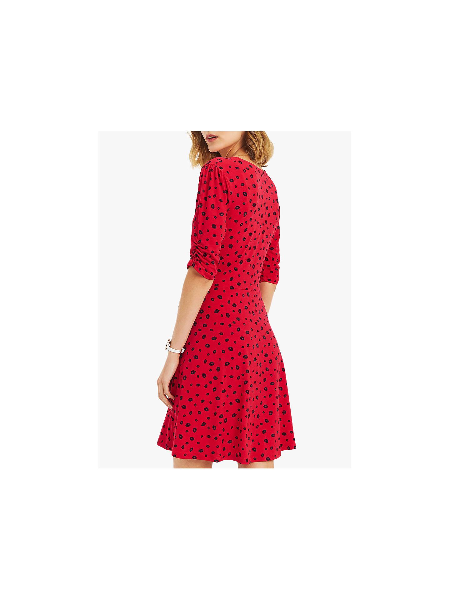 3fa0e2262d6 ... Buy Oasis Lip Print Ruffle Dress