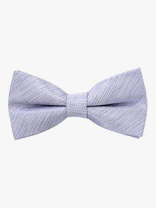 John Lewis & Partners Heirloom Collection Boys' Textured Bow Tie, Blue
