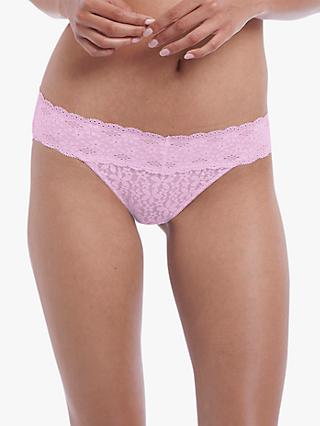 Wacoal Halo Lace Bikini Briefs, Sweet Pink