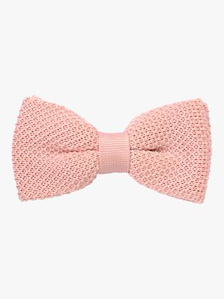 9f9a65b1a38a John Lewis & Partners Heirloom Collection Boys' Knitted Bow Tie ...