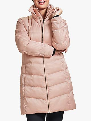 Four Seasons V-Shaped Quilted Coat